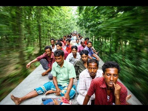 Bangladesh Train Traveling   Ei Meghla Dine Ekla