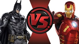 BATMAN vs IRON MAN! Cartoon Fight Club Episode 15!