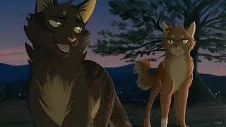 Коты воители. Белка и Уголёк.