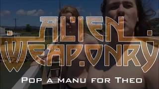 Alien Weaponry pop a manu for Theo - Crowd funding for the album