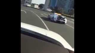 Dubai Police Cars In Action!