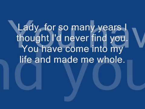 Lady  Kenny Rogers Lyrics
