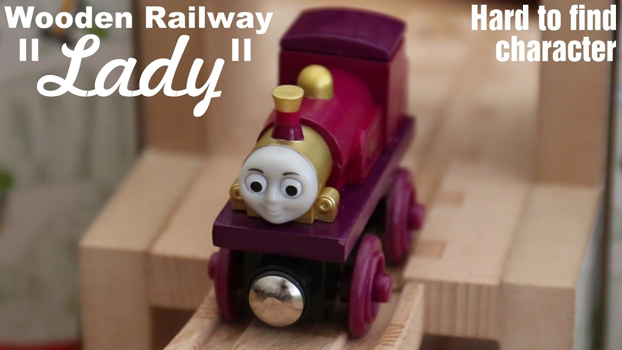 Thomas & Friends Characters: Lady Wooden Railway - Rare, hard to ...