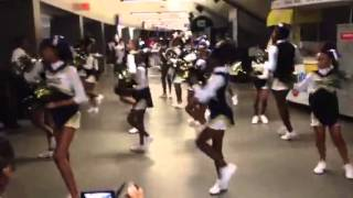 "Eaglettes Cheer/Dance (Chris Brown ""Turn Up the Music"")"