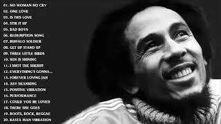 TOP BOB MARLEY SONGS PLAYLIST - BEST OF BOB MARLEY - BOB MARLEY'S GREATEST HITS