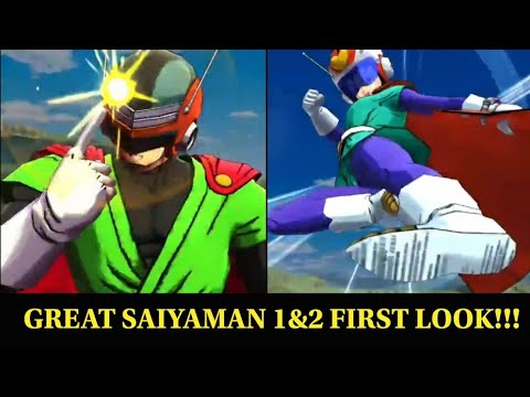 Great Saiyaman 1&2 Legends Road Coming to Dragon Ball Legends