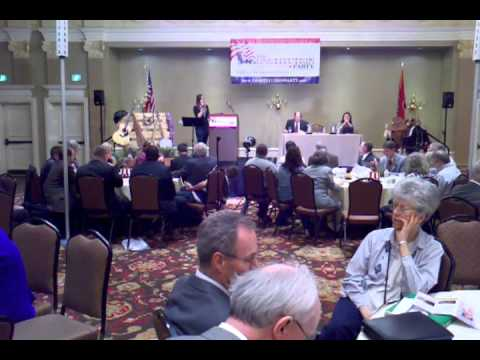 Erin McLendon at Constitution Party Convention
