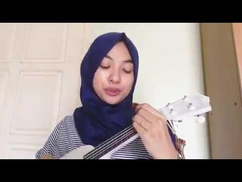 Video Wanita Berhijab Ini Bikin Heboh ,Gara-gara Iseng Iseng Cover Lagu Ost Sinchan