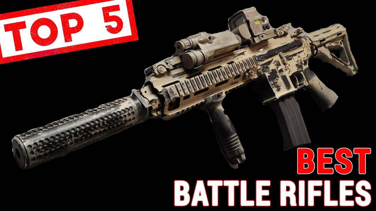Top 5 Battle Guns of the Modern Era