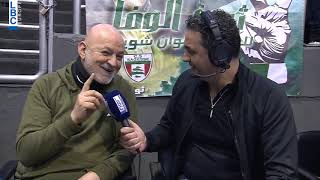Sagesse vs Champville - Interview Coach Ghassan Sarkis