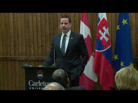 Ambassador Speaker Series: Slovak Republic,  His Excellency Andrej Droba