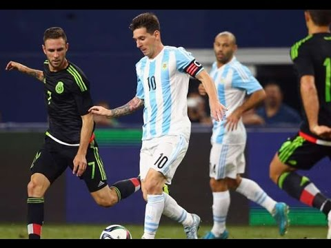 Lionel Messi vs Mexico - International Friendly - Mexico ...