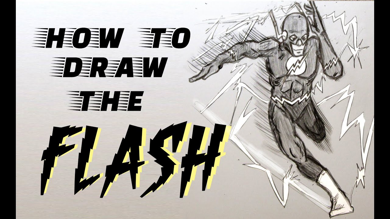 The Flash Line Art : Ep how to draw the flash youtube