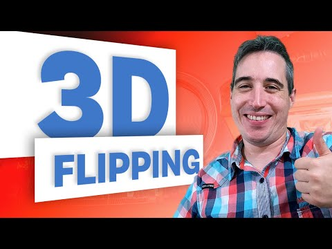 Create A 3D Flipping Animation With HTML And CSS