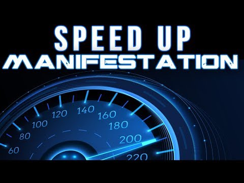 The Most POWERFUL MANIFESTATION ACCELERATION TECHNIQUE You Can Use! (law of attraction)