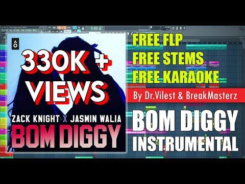 Bom Diggy (Instrumental) | Zack Knight x Jasmin Walia  | Dr.Vilest x BreakMasterz