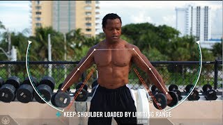 Must see! If you want to build massive shoulders. ( Dumbbell Lateral Raise Tutorial)