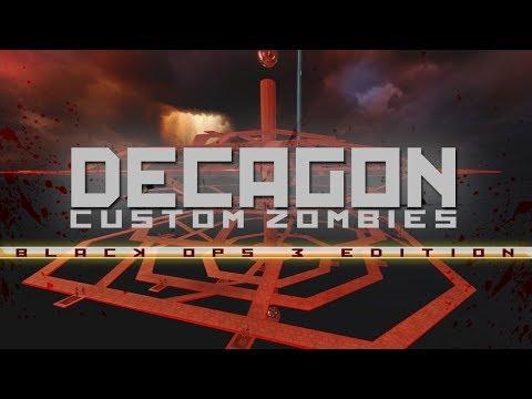 "BO3: Custom Zombies | ""Decagon"" Solo (Hard map) Version: 26. Sep. 2017"