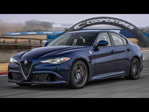 2017 Alfa Romeo Giulia Quadrifoglio Hot Lap! - 2017 Best Driver's Car Contender