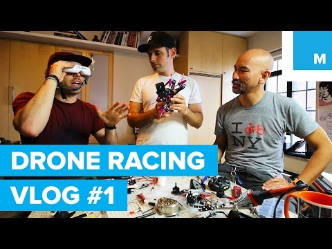 HOW TO RACE DRONES VLOG #1