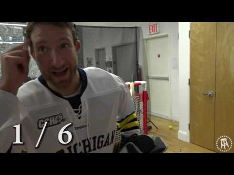 Barstool Goalie Challenge Featuring Kevin Hayes, Jimmy Vesey and Brady Skjei of the NY Rangers