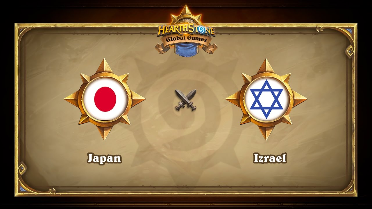Japan vs Izrael, Hearthstone Global Games Group Stage