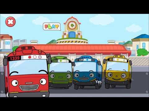 Tayo Garage Game App Play L Compilation L Mechanic Game