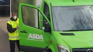 Coronavirus Uk - Asda Home Food Delivery Slot