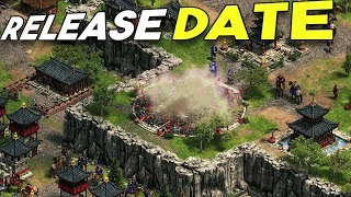 RELEASE DATE IS HERE! - Age of Empires Definitive Edition!