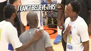 Demar Derozan GOES OFF ON OFFICIAL after BLOW TO THE HEAD! Swaggy P STAYS UNDEFEATED