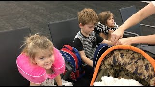 HOW TO TRAVEL WITH KIDS - Vlog #60