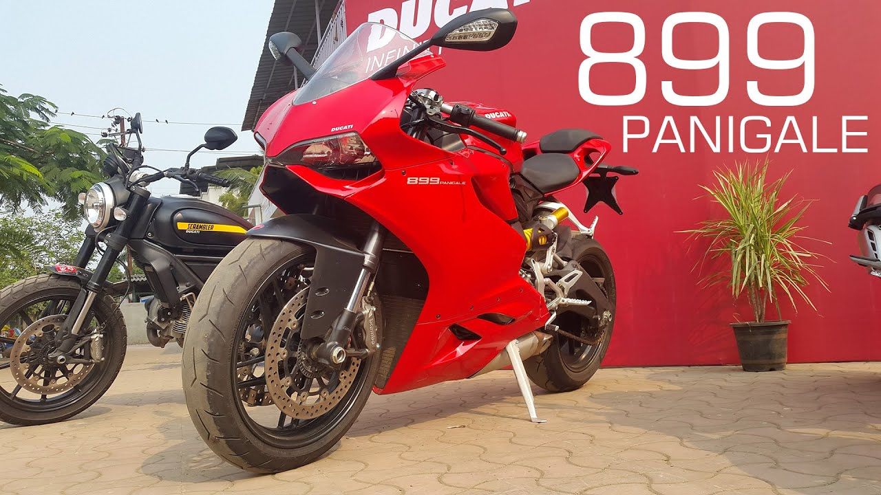 DUCATI 899 PANIGALE - START UP AND REVS - YouTube