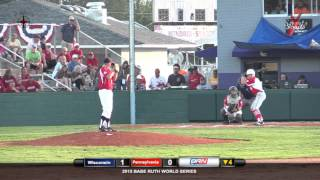 2015 Babe Ruth World Series: Eau Claire, WI vs. West End, PA