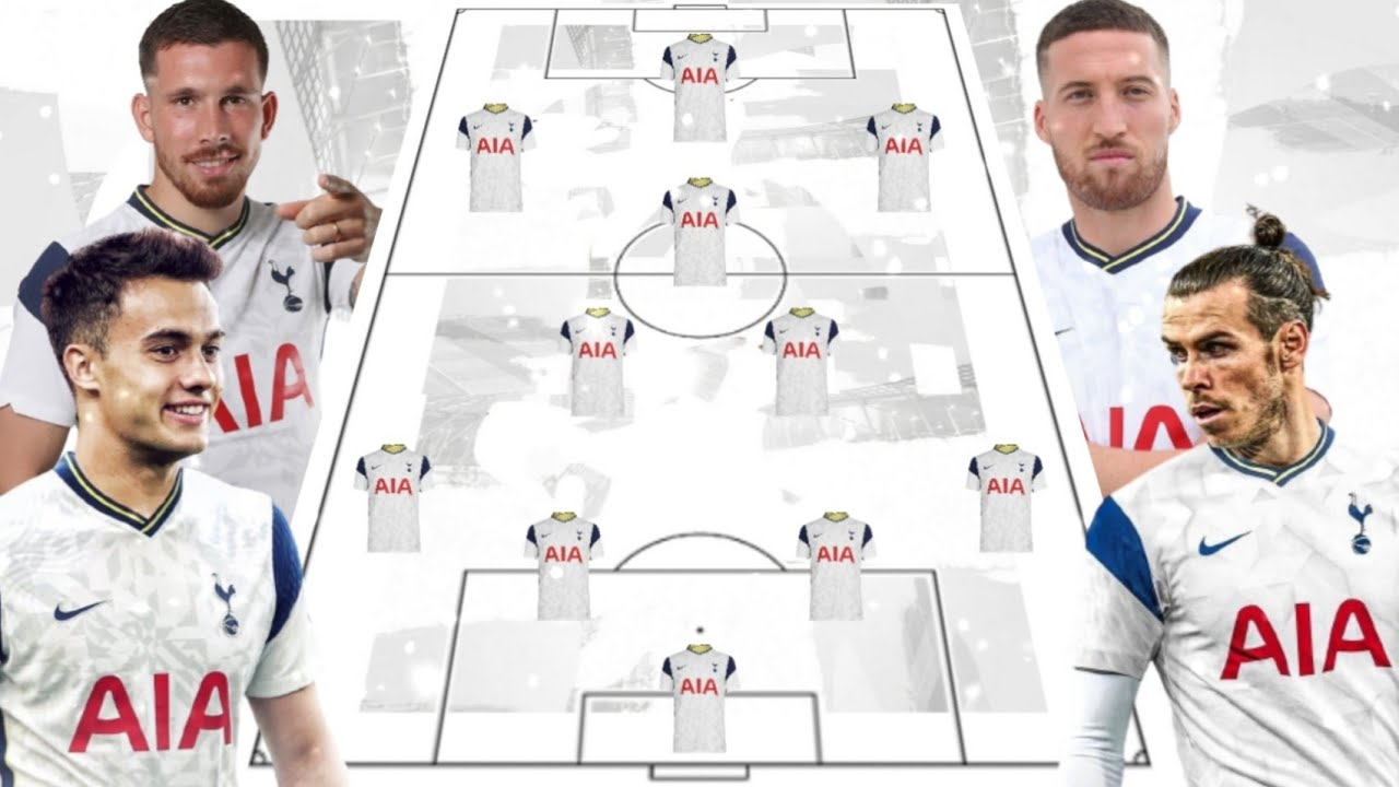 BALE & REGUILON DEAL TO TOTTENHAM HOTSPUR - Potential Lineup Season 2020/21 + Transfer 2021 ⚪