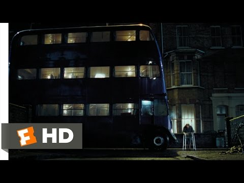 Harry Potter and the Prisoner of Azkaban (1/5) Movie CLIP - The Knight Bus (2004) HD