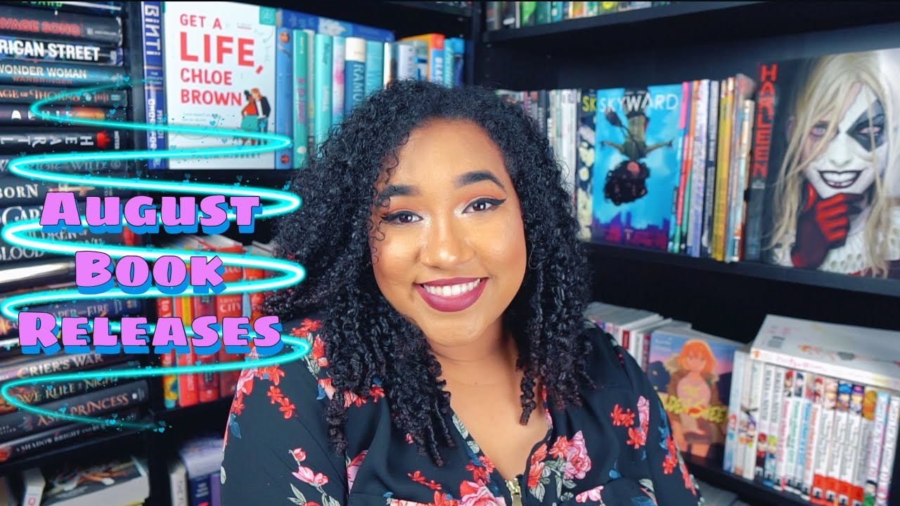 My Most Anticipated August 2020 Book Releases
