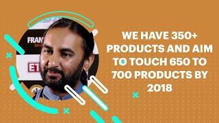 We have 350  products and aim to touch
