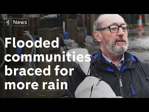 Flooded communities expecting