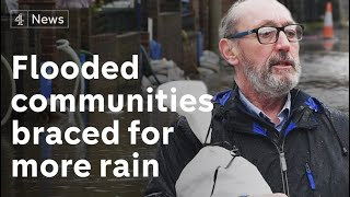 Flooded communities expecting more heavy rain