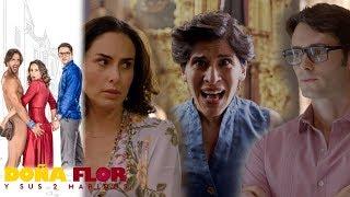Doña Flor y sus 2 maridos - Capítulo 35: Rosario contra matrimonio de Flor y Teo | Televisa