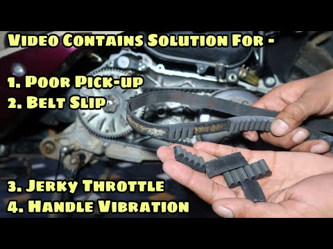 How To Fix Handle Vibrations In All Scooters