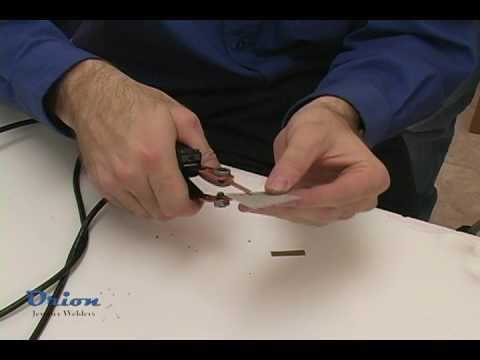 Orion Jewelry Welders - Resistance Welding Sheet Stock
