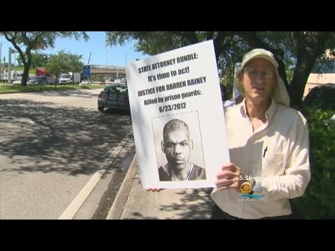 Protestors Demand Answers & Action In Death Of Inmate Darren Rainey