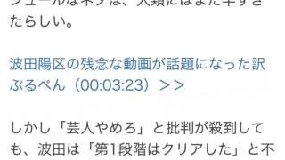 GYAO! トークバラエティ「ぶるぺん」出演 お笑い芸人・波田陽区) 2000...