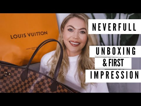 Louis Vuitton Neverfull Unboxing + First Impression   Bri Fletcher