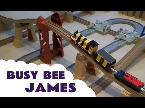 Thomas The Train Trackmaster Spencer Busy Bee James Mighty Mac Emily & Bulgy Kids Toy Train Set