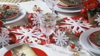 Стол на Новый год как украсить оригинально