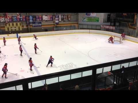 Les Canadiennes - 01/31/16 warm-up