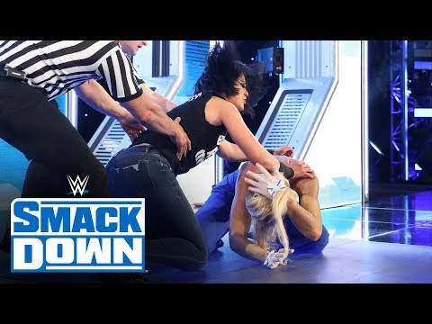 Bayley crashes Lacey Evans'  interview: SmackDown, Jan. 24, 2020