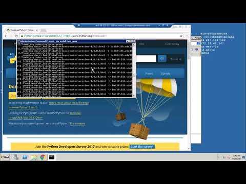 Setup windows 7 for Apache + Flask